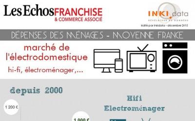 Infographie – Le marché de l'Electroménager en France