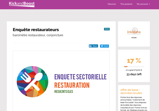 Nouvelle analyse sectorielle de la restauration
