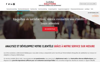 Inkidata partenaire des Echos Solutions